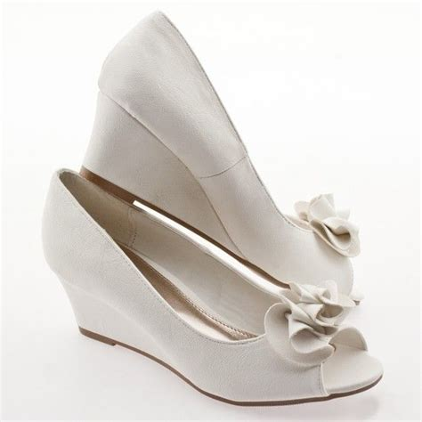 best 25 bridal wedges ideas on wedding shoes