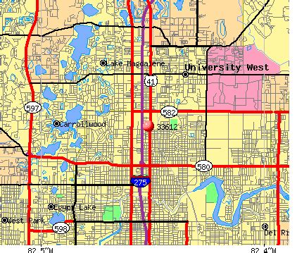Tampa Fl Zip Code Map by 33612 Zip Code Tampa Florida Profile Homes