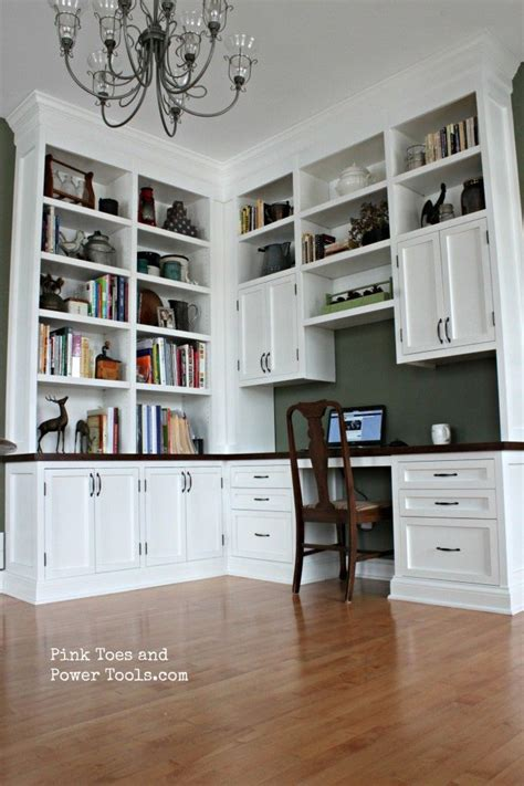 a desk out of bookshelves 17 best ideas about office built ins on home