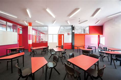 Schools With Upholstery Programs by Fitzroy High School Openbuildings