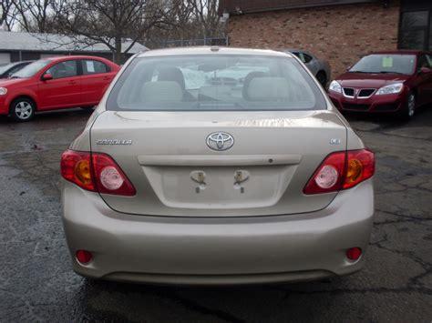 Toyota Corola 2010 2010 Toyota Corolla