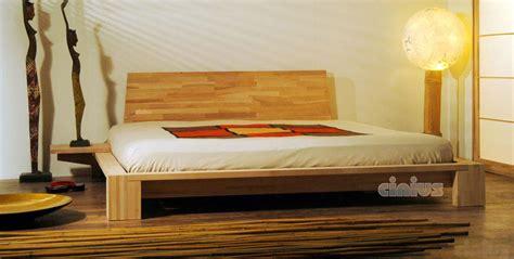 testata futon letto kyoto di cinius stile minimal orientale in legno