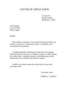 Formal Letter To Principal Formal Letter Template
