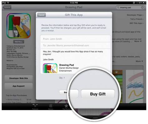 How To Purchase Apps On Ipad With Gift Card - how to gift an app cult of mac
