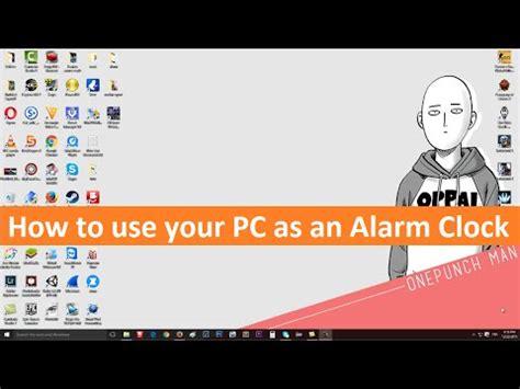 turn  pc   alarm clock   program