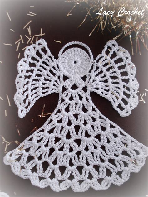 free patterns angel crochet lacy crochet november 2011