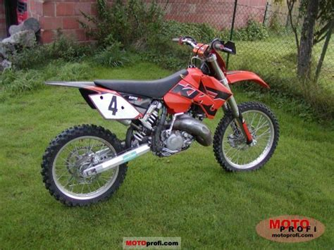 2005 Ktm 125 Sx Ktm 125 Sx 2005 Specs And Photos