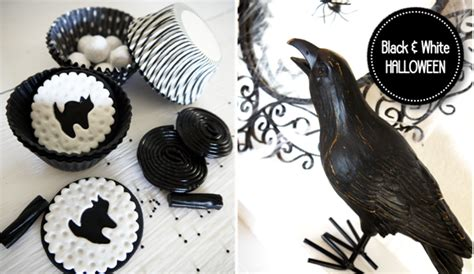 printable halloween decorations black and white party blog by birdsparty printables parties diycrafts