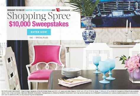 Martha Stewart Wedding Sweepstakes - martha stewart weddings splash shopping spree 10 000 sweepstakes martha stewart
