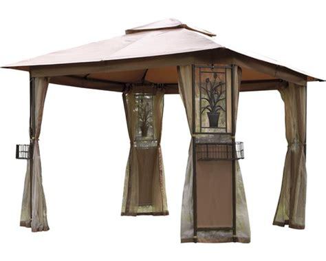 pavillon faltbar 4x4 pavillon florence 3x3x2 65 m polyester 200 g m 178 braun bei