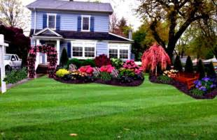 Garden Design: Garden Design with Front Yard Landscaping Ideas for Your Home Front