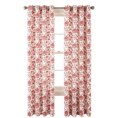 jcpenney home collection curtains jcpenney home