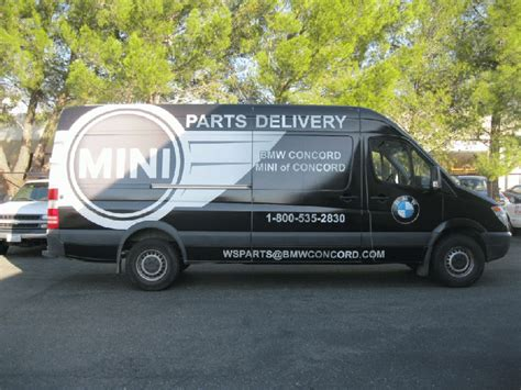 bmw sprinter custom graphic wrap for 170 sprinter bmw concord ca