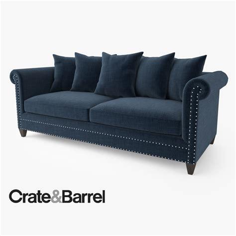durham sofa crate barrel durham sofa 3d max