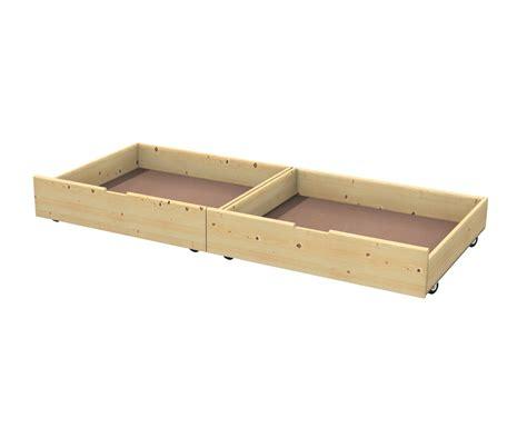 letto con cassetti sotto cassetto contenitore sotto letto in abete