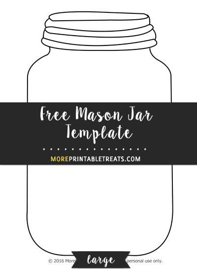 Jar Template Free jar printable template templates data