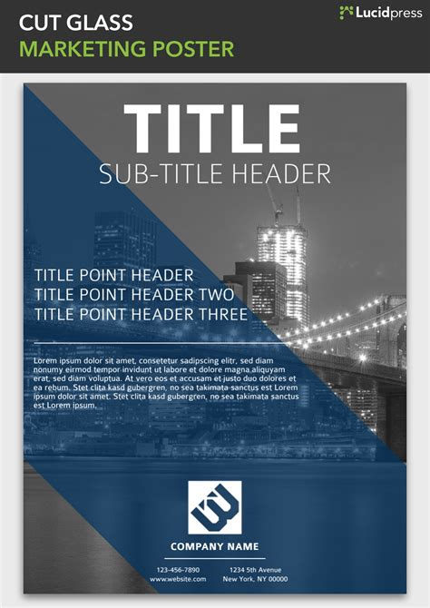 Marketing Poster Layout Ideas | 18 cool creative poster ideas lucidpress