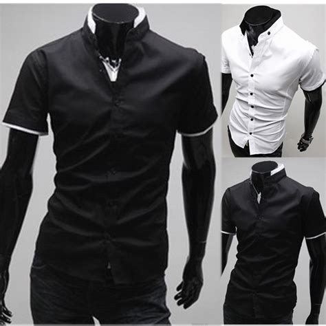 Different Designs Of Shirts Three Popular Types Of Stand Collar Dress Shirt