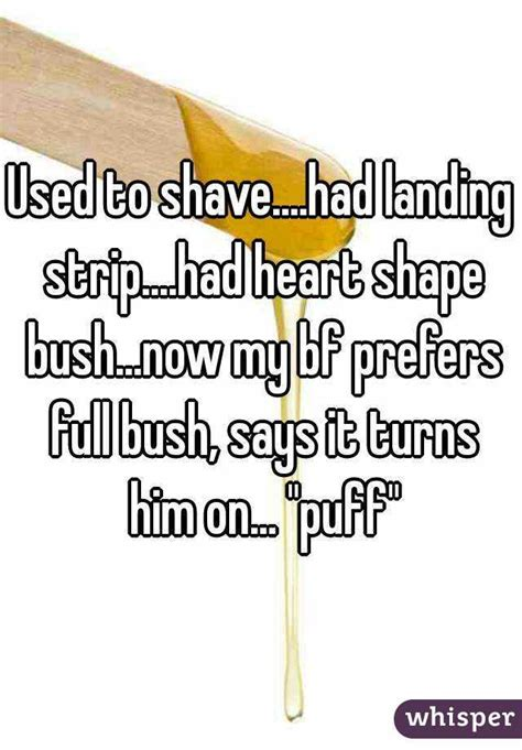 shave sissy with landing strip used to shave had landing strip had heart shape bush