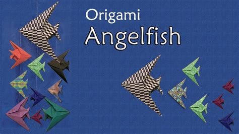 Angelfish Origami - origami angelfish by montroll