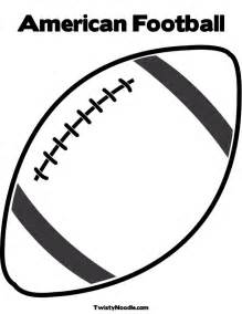 Free Football Template Printable Football Template Cliparts Co