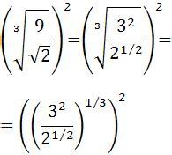 multiplicacion de raices cuadradas potencias con exponentes fraccionarios ra 205 ces y potencias