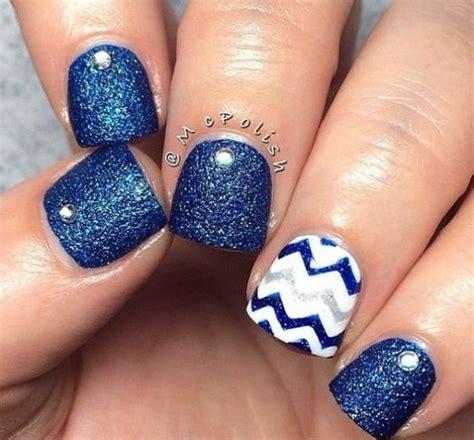 imagenes de uñas de acrilico color turquesa u 241 as decoradas en azul los mejores dise 241 os