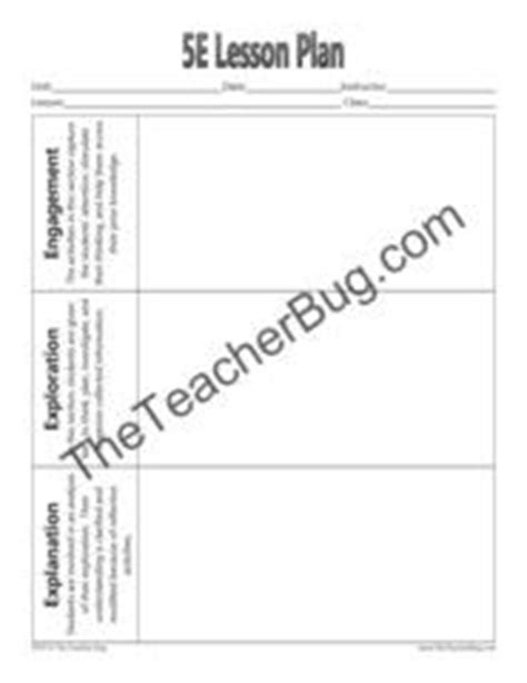 5e Lesson Plan Template Products We Love Pinterest Lesson Plan Templates Lesson Plans And 5e Lesson Plan Template