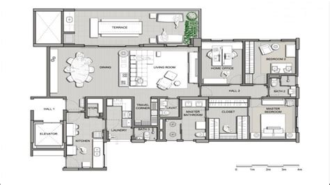 modern design floor plans modern home design plans beautiful modern houses modern