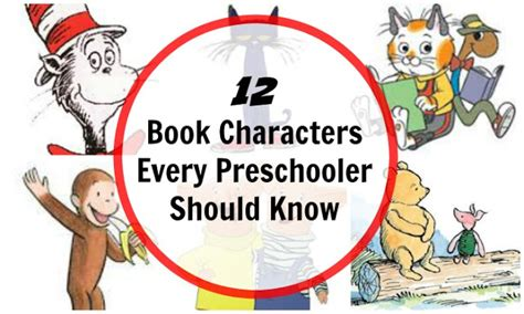 book characters 12 book characters for preschool children planet smarty