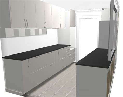 ikea kitchen cabinets planner from ikea kitchen planner parallel kitchen with veddinge white doors and black stone worktops