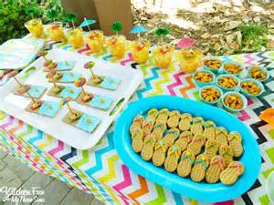 teddy bear beach party treats amp snacks including a free