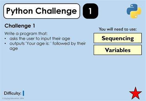 python programming challenges python challenges for ks3 4 zigzag education