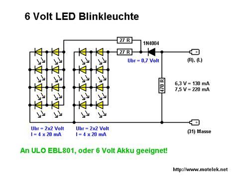 Motorrad Blinker Verkabelung by Blinkgeber F 252 R Led Blinker 6v Z 220 Ndapp Net