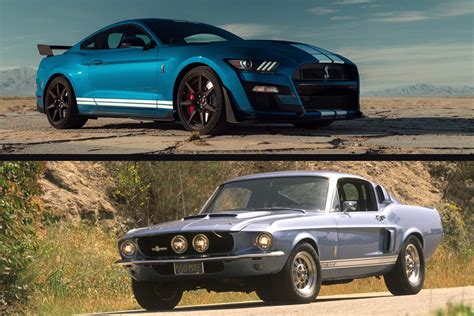 2020 Mustang Gt500 Vs Dodge by To 2020 Shelby Gt500 Vs 1967 Shelby Gt500