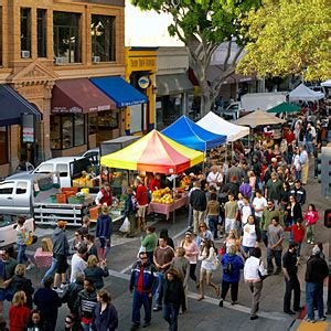 Downtown San Luis Obispo Farmers' Market   San Luis Obispo, CA   Sunset
