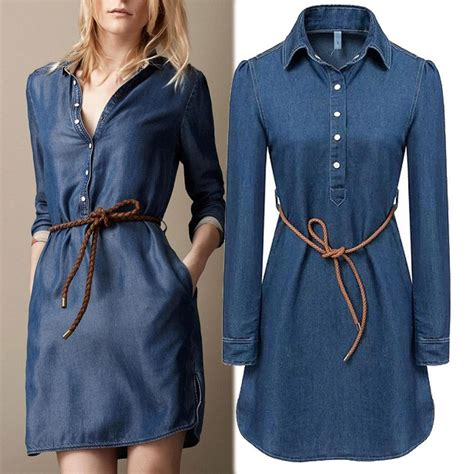 latest vogue style colcci jeans dresses 2015 new 2015 summer style fashion denim dress women long