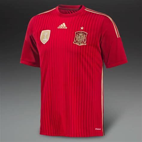 Adidas Spain Home Jersey Original Word Cup 2014 Size M football shirts adidas spain 2014 home espana replica