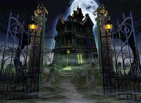 set the scene for a haunted mansion halloween party boo gleech