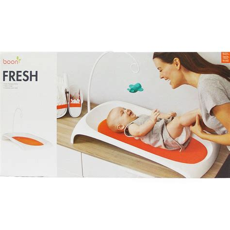 Boon Fresh Changing Station Baby Infant Contour Change Boon Changing Table