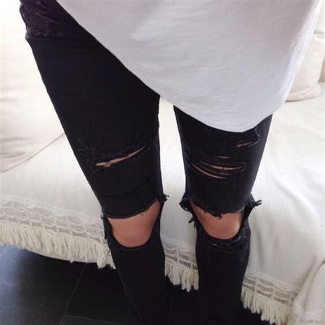 black croptop diy fashion image 3837195 by