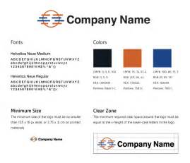 Corporate Design Styleguide Vorlage The Four Basic Elements Of A Brand Style Guide Are The Colors Fonts Minimum Size And Clear