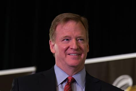 But He S roger goodell s salary keeps dropping but he s still