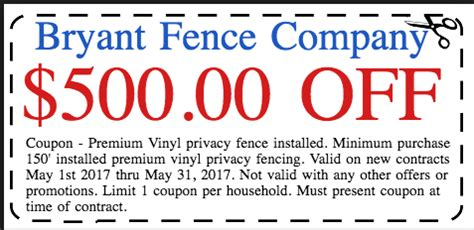 haircut coupons knoxville tn vinyl fence archives page 2 of 10 bryant fence company