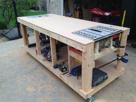 best garage workbench best 25 garage workbench plans ideas on garage