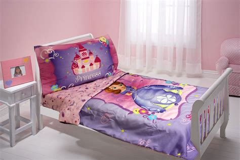 princess toddler bedroom set disney sofia first toddler bedding set 4pc sweet