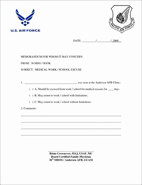 7 Easy To Use Doctor Note Template Sletemplatess Sletemplatess Doctors Note Template Pdf