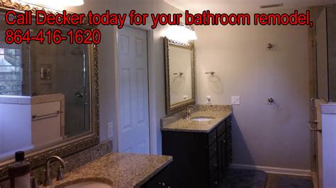 bathroom remodeling in greenville sc