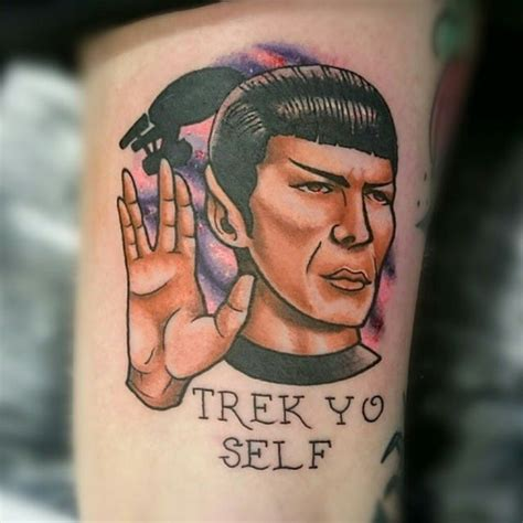 live long and prosper tattoo live and prosper with these awesome trek tattoos