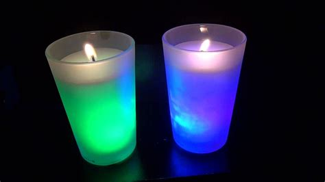 color changing candles air wick color changing candles